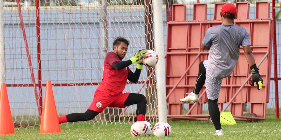 Kiper Persija Bersyukur Jalani Laga Usai Absen 5 Tahun dari Sepak Bola