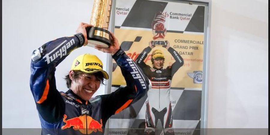 Mulai Dari Posisi 14, Pembalap Jepang Raih Juara Moto GP Qatar 2020