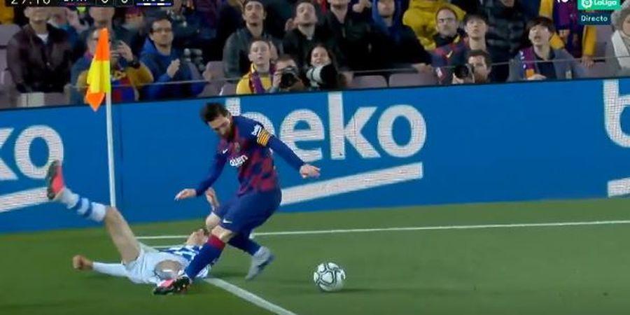Mengerikan! Angka ini Menunjukan Bahwa Messi Memang Dewa Drible