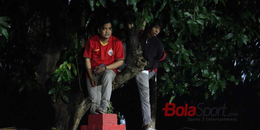 The Jak Mania Panjat Pohon Demi Nonton Persija Vs Bhayangkara FC