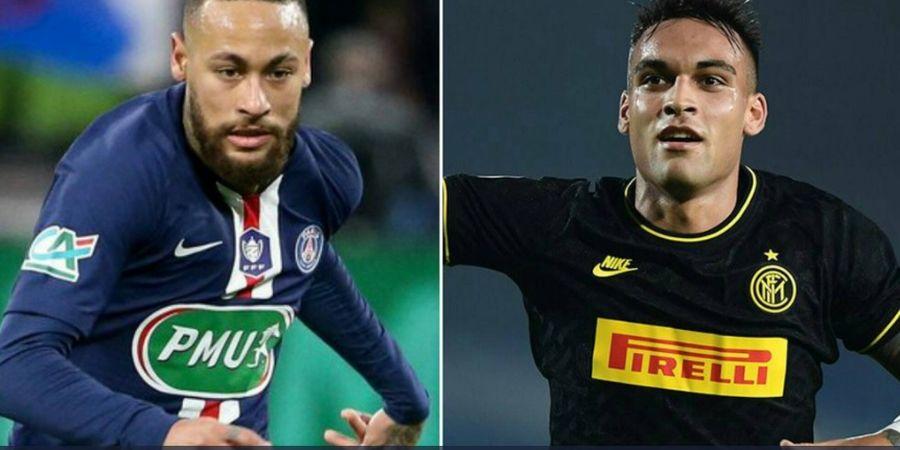 Barcelona Didesak untuk Prioritaskan Neymar daripada Lautaro Martinez