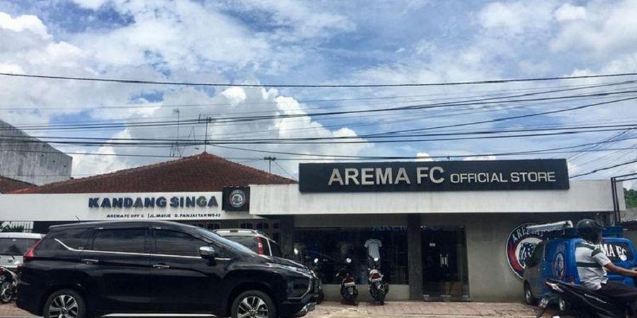 Dampak Virus Corona, Arema FC Store Pilih Menjual Produk Lewat Sistem Online