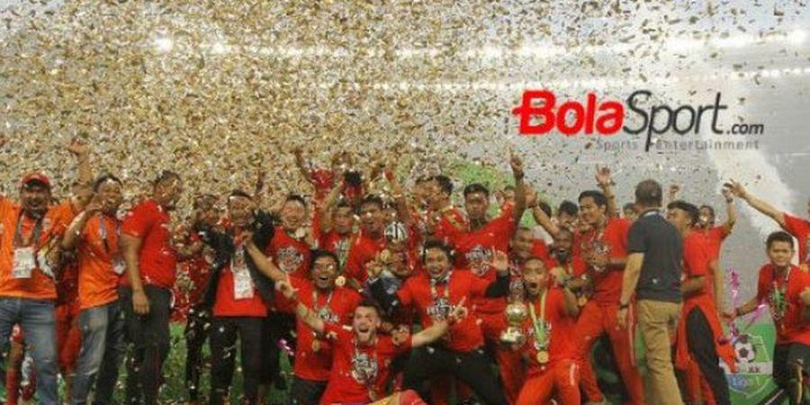 Saat Juara Liga 1 2018, Persija Paling Beringas Di Kandang Lawan