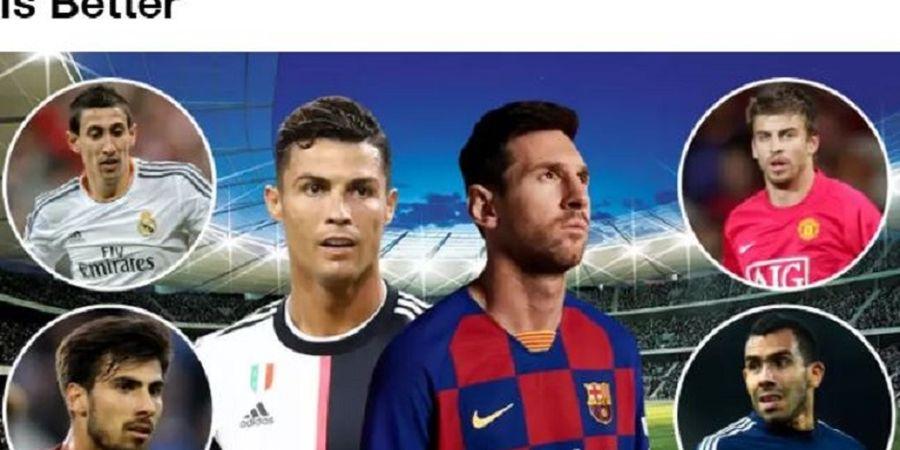 9 Pemain yang Pernah 1 Tim Bareng Messi dan Ronaldo, Jawab Siapa yang Terbaik