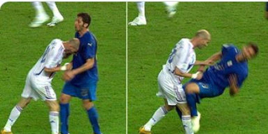 Zidane Dimusuhi Selama 2 Tahun Gara-gara Kartu Merah Piala Dunia 2006