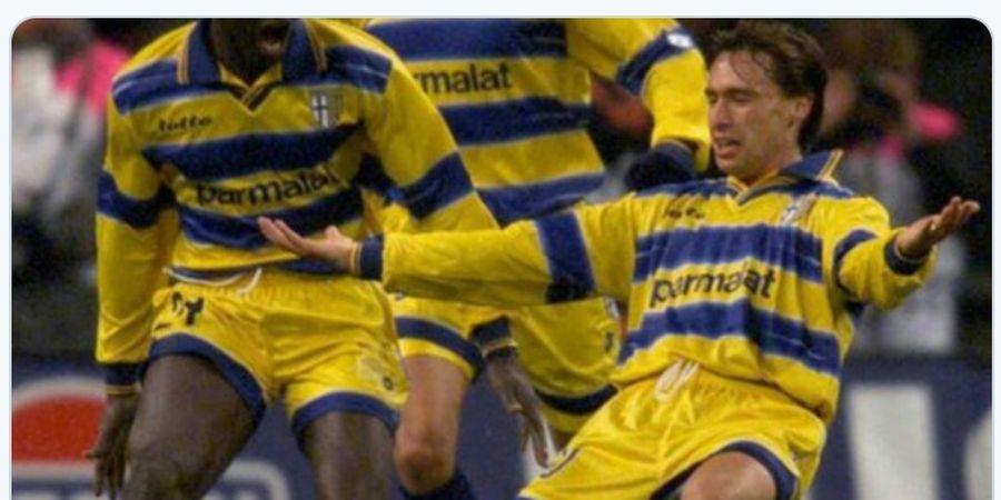 DUEL KLASIK, 6 April 1999 - Duet Enrico Chiesa-Hernan Crespo Hancurkan Atletico Madrid