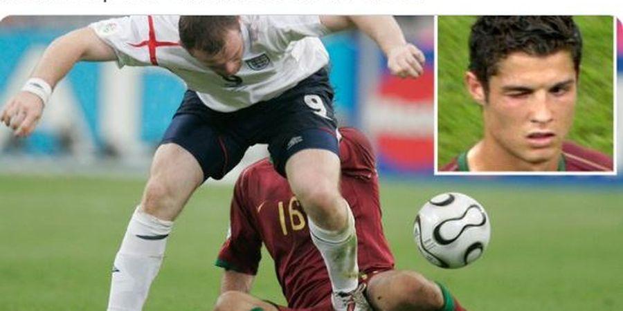 Terbongkar! Hal Fantastis Rooney Usai Terlibat Keributan di Laga Inggris vs Portugal 2006