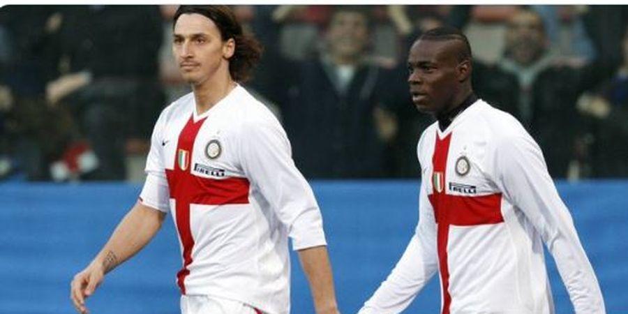 Terbongkar! Ibrahimovic Pernah Ucapkan Kata Kasar ini pada Ballotelli