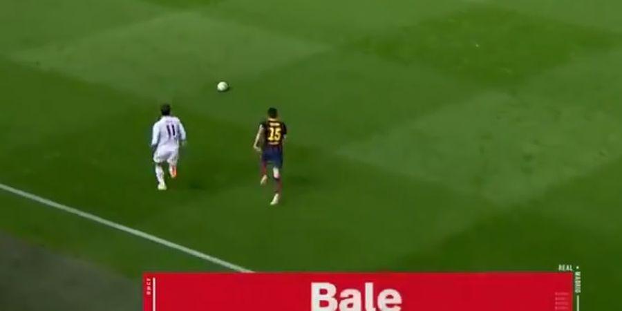 Gareth Bale Bikin Bek Barcelona Jadi Pecundang dalam Hitungan Menit