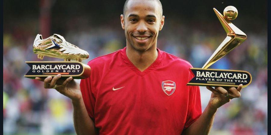 Meski Jadi Pencetak Gol Terbanyak Arsenal, Thierry Henry Bukan Pemain Terbaik