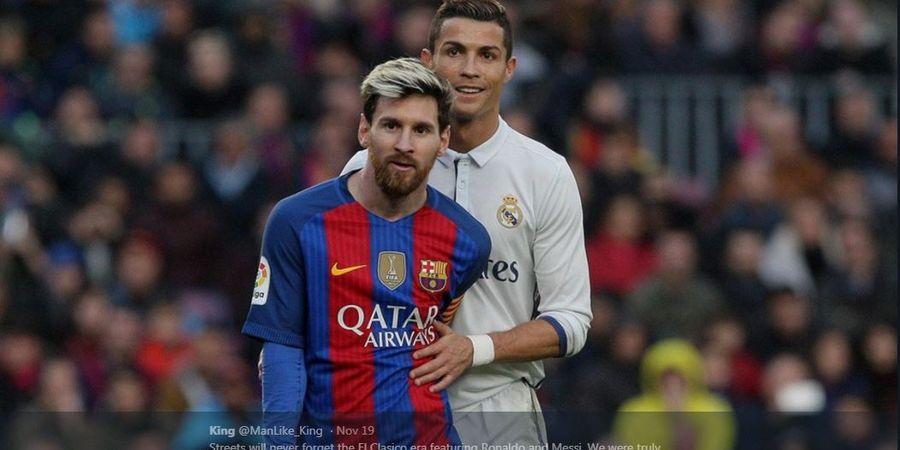 Antara Neymar dan Kylian Mbappe, Eks Barcelona Tetap Pilih Lionel Messi