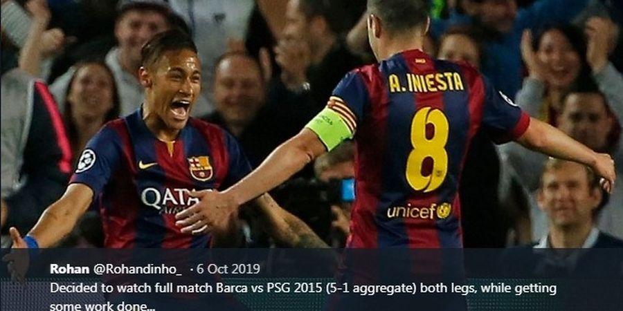 VIDEO - Dua Gol Neymar Bawa Barcelona Lolos ke Semifinal Liga Champions 2014-2015