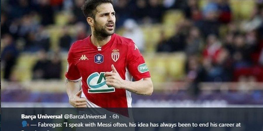 Dua Mantan Klubnya Bentrok di Final Piala FA, Cesc Fabregas Jagokan Arsenal