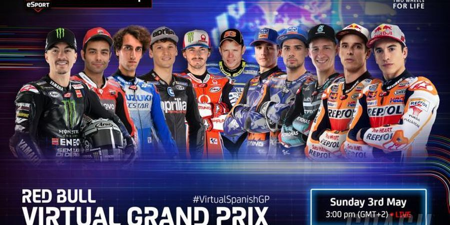 Link Live Streaming MotoGP Virtual Ke-3 - Menanti Marc Marquez Raih Gelar