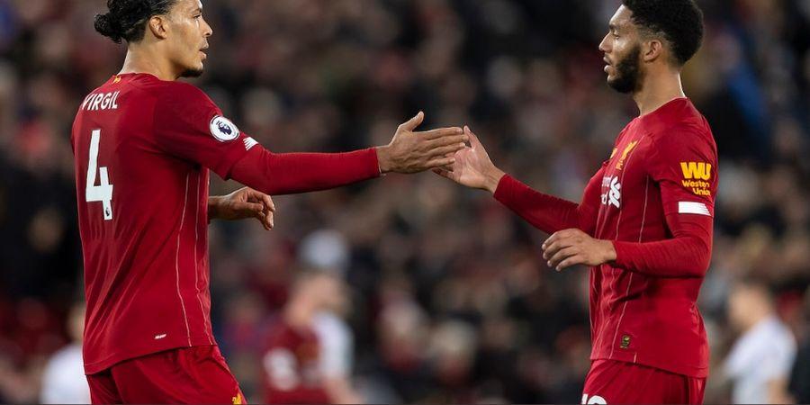 Joe Gomez Akui Nikmati Sensasi Berduet dengan Van Dijk di Liverpool