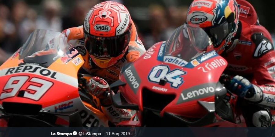 Tukar Nasib ala Marc Marquez dan Andrea Dovizioso Jelang MotoGP 2020