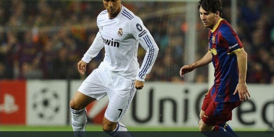 VIDEO - Cristiano Ronaldo Bungkam Fan Barcelona di Camp Nou Pakai Selebrasi Ikonik