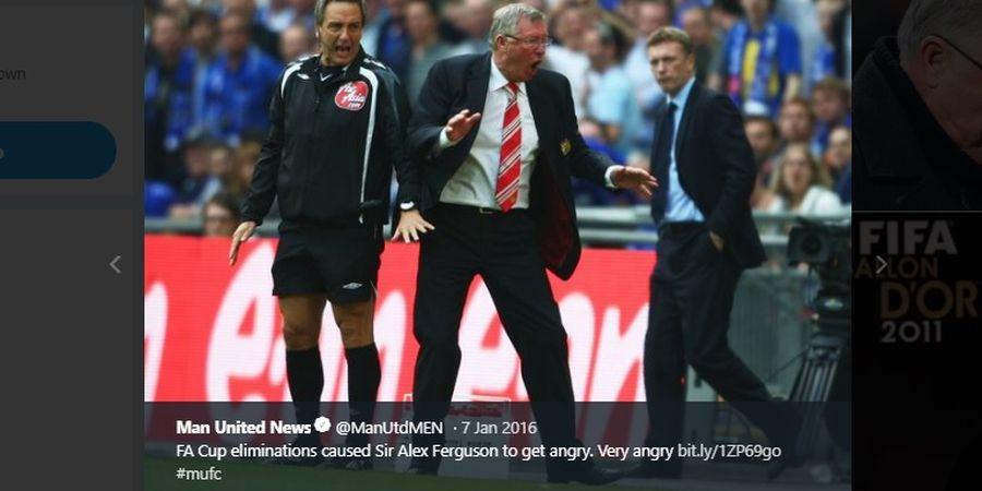 Karena Satu Momen, Sir Alex Ferguson Pernah Memaki Semua Pemain Manchester United