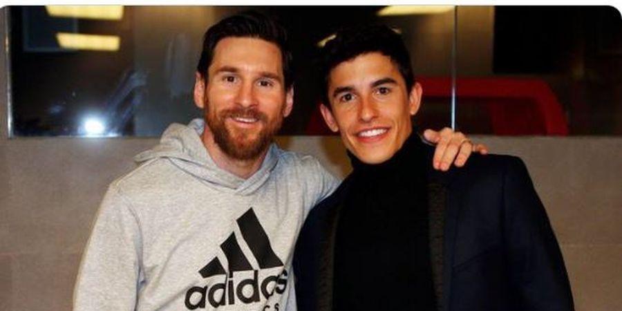 Marc Marquez Sebut 1 Kalimat dari Lionel Messi yang Buat Dirinya Mau Mati