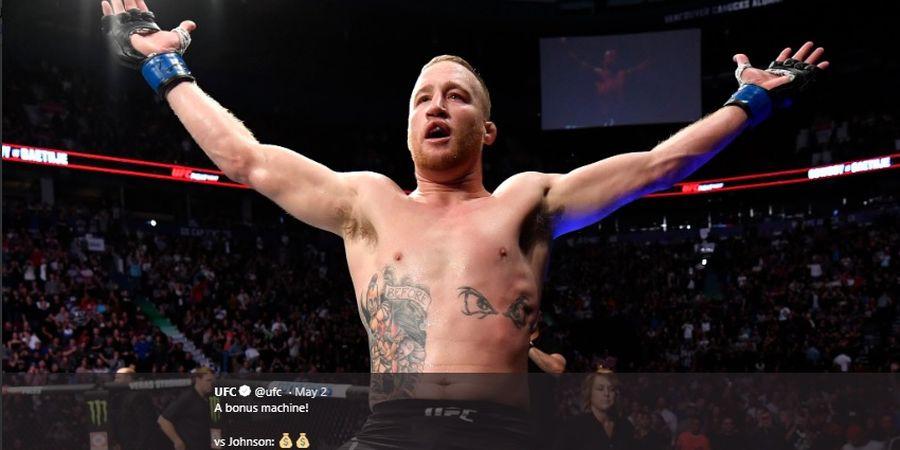Bikin Remuk Wajah Tony Ferguson pada UFC 249, Justin Gaethje Juga Pecahkan Rekor Ini