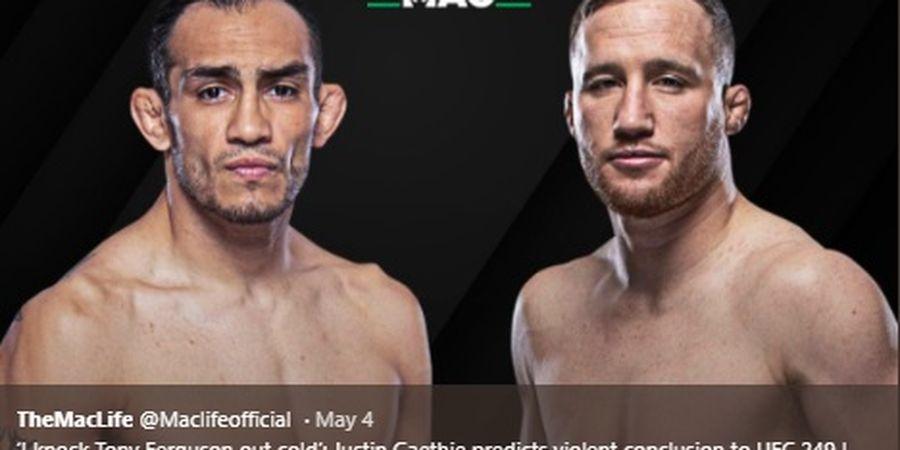 UFC 249 - Tony Ferguson vs Justin Gaethje Jadi Jalan Amerika Melawan Khabib Nurmagomedov