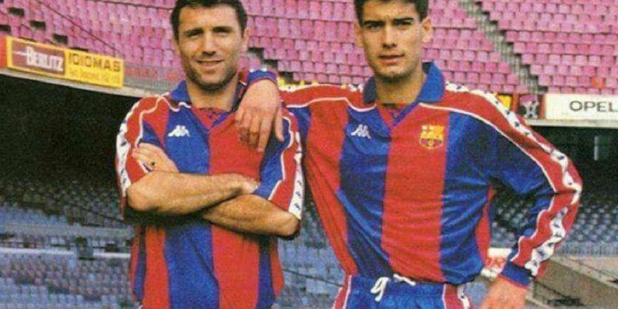 Stoichkov Ungkap Siapa Sebenarnya Pep Guardiola di Barcelona