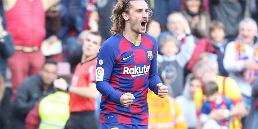 Meski Disuruh Barcelona, Antoine Griezmann Tetap Ogah Cukur Rambut Gondrongnya