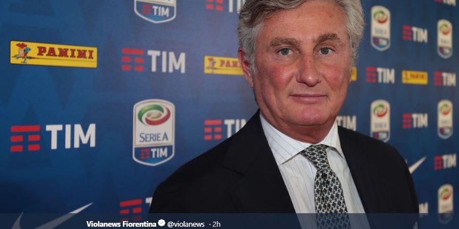 Ditutupi, Direktur Fiorentina Tularkan COVID-19 ke 9 Anggota Keluarganya