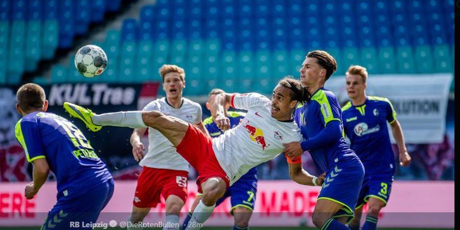 Hasil Bundesliga - Langsung Tegang, RB Leipzig Diselamatkan VAR Menit 93