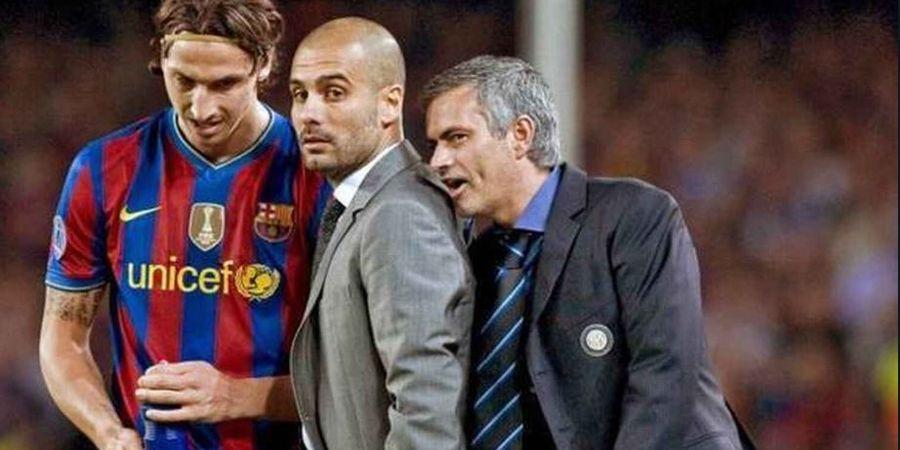 Terungkap Bisikan Mourinho ke Guardiola Saat Laga Barcelona Vs Inter Milan di Liga Champions