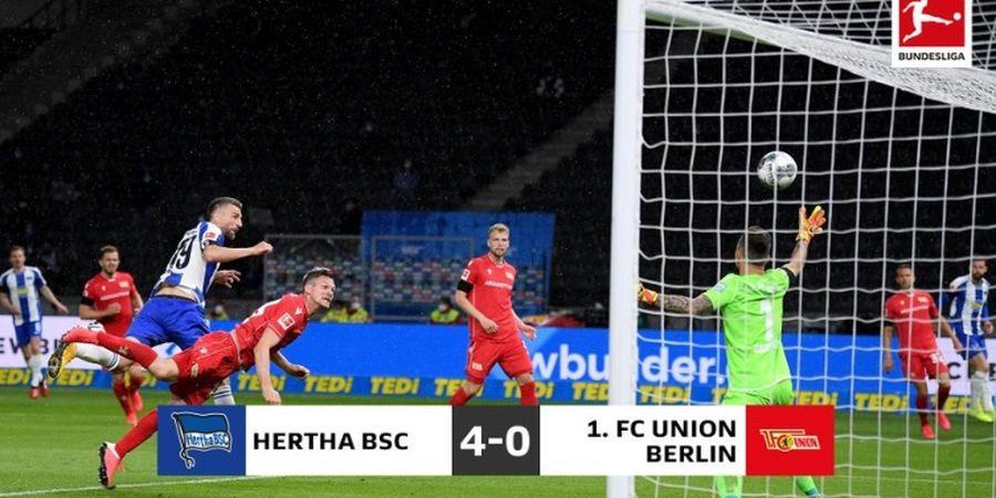 Hasil Bundesliga - Krzysztof Piatek Memble Lagi, Hertha Berlin Hajar Union Berlin 4-0