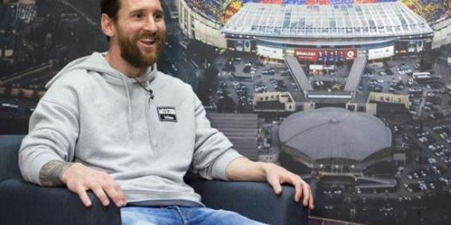 Lionel Messi Beri Jawaban soal Pertanyaan Jika Kelak 1 Tim dengan Cristiano Ronaldo