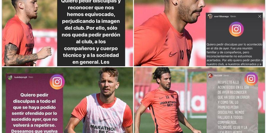 Liga Spanyol Bisa Terancam Karena Ulah Empat Pemain Sevilla yang Melanggar Aturan