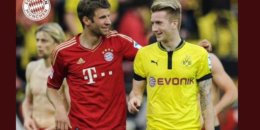 Klasemen Bundesliga, Dortmund Belum Bisa Salip Bayern Lewat Der Klassiker