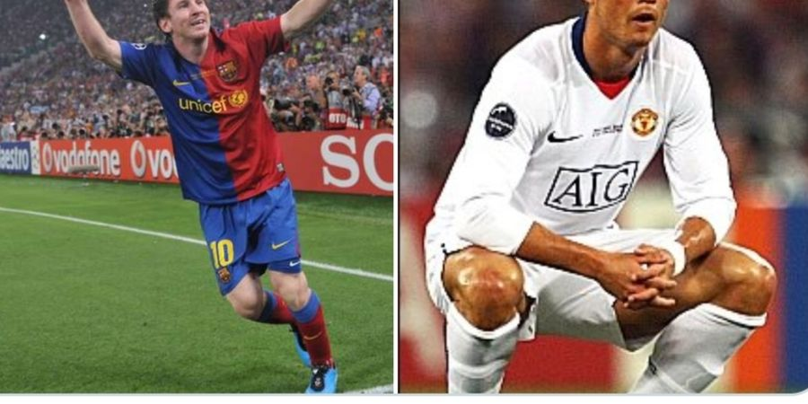 On This Day - Final Liga Champions 2009, Ketika Messi Menangi Duel Lawan Ronaldo