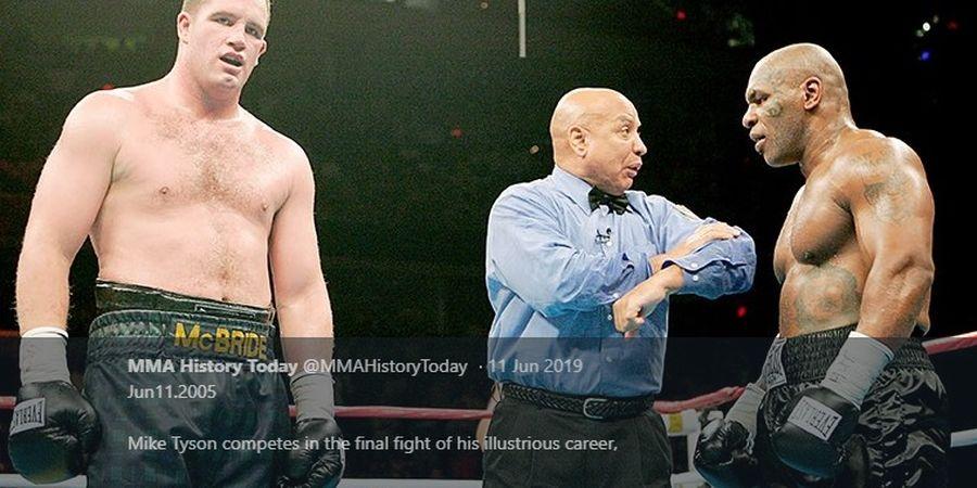 Saat Mike Tyson Bernostalgia dengan Petinju yang Akhiri Kariernya