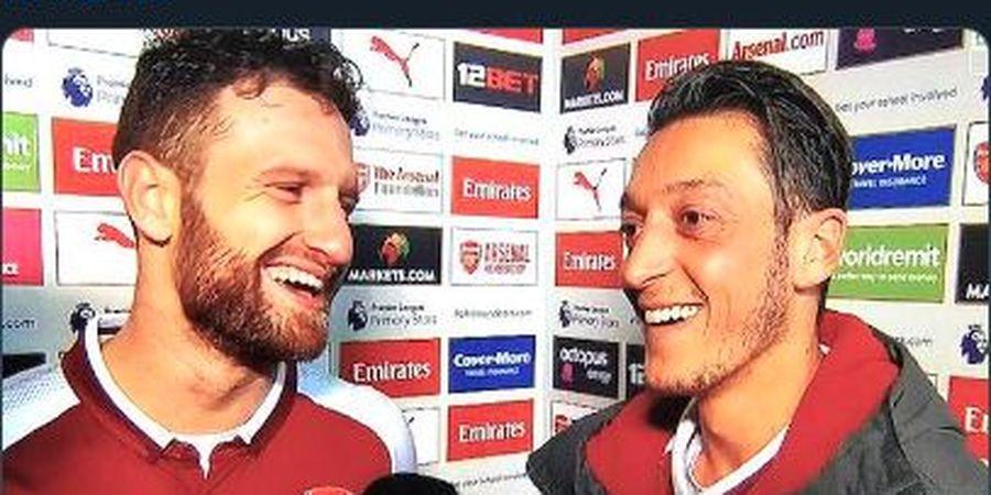 Oezil Hengkang ke Fenerbahce, Mustafi: Selamat Tinggal Raja Assist Arsenal