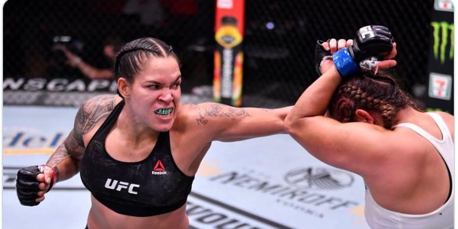 Hasil UFC 250 - Tersenyum Selama Laga, Amanda Nunes Lumat Habis Felicia Spencer