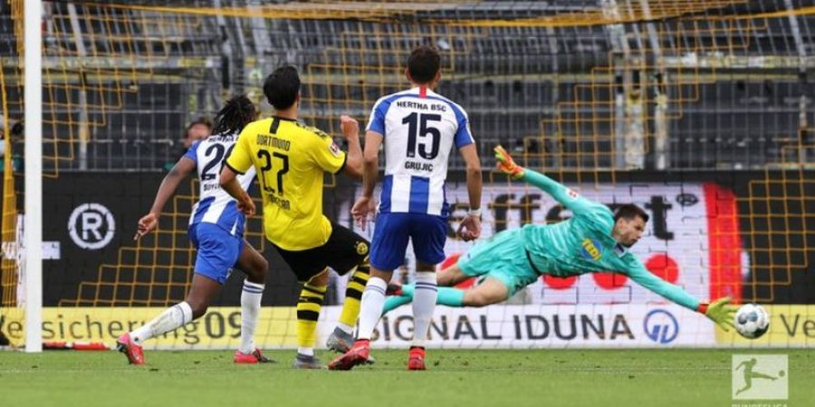 Hasil Bundesliga - Menang Tipis, Borussia Dortmund Masih Ancam Bayern Muenchen