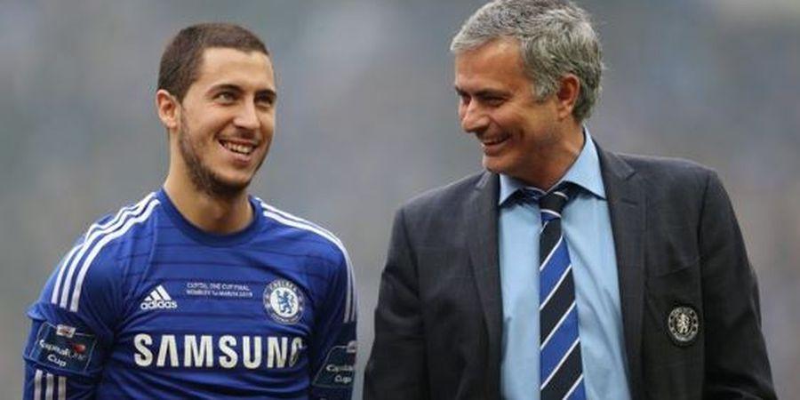 Saat Latih Man United, Mourinho Beri Tugas 1 Pemain Jaga Hazard Sampai ke Kamar Mandi