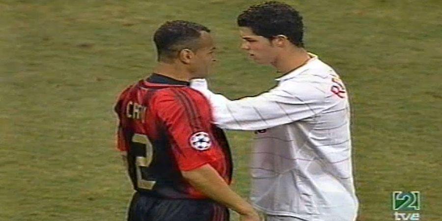 Video Cristiano Ronaldo Muda Tak Berdaya Lawan Bek-bek AC Milan