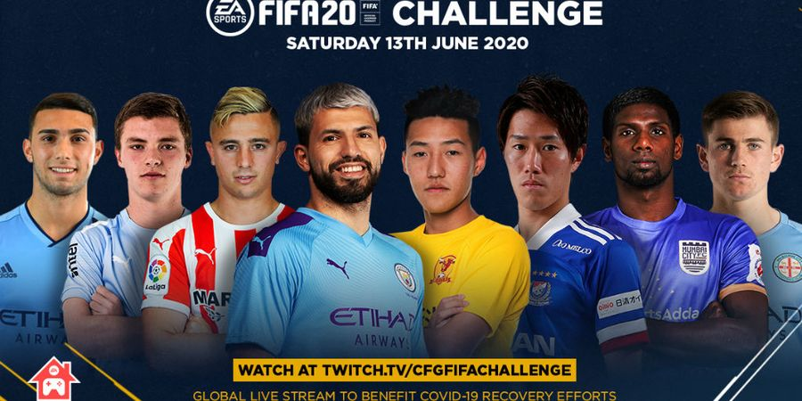 Link Live Streaming Manchester City FIFA 20, Aguero Vs Zinchenko