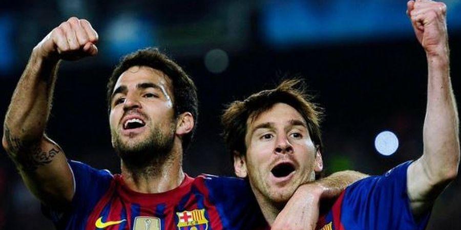 VIDEO - Gol Terbaik Fabregas di Barcelona, Kaki Kiri, Kaki Kanan, dan Kepala Hidup