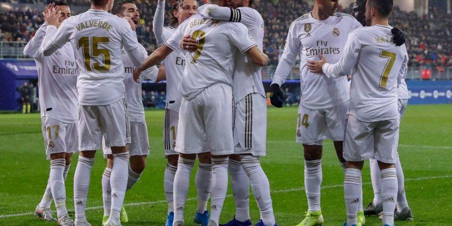Starting XI Real Madrid Vs Eibar - Eden Hazard Langsung Starter
