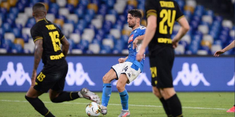 Bobol Gawang Inter Milan, Dries Mertens Sah Jadi Raja Gol Sepanjang Masa Napoli