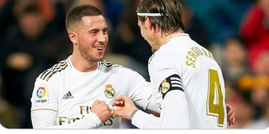 Comeback Eden Hazard Sukses Bikin Real Madrid Menang dan Zinedine Zidane Senang