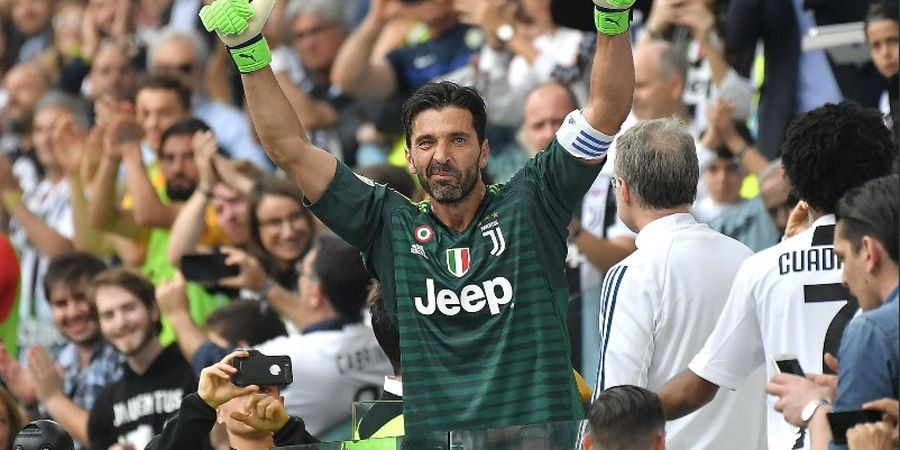 Starting XI Juventus Vs Torino - Gianluigi Buffon Resmi Kalahkan Paolo Maldini