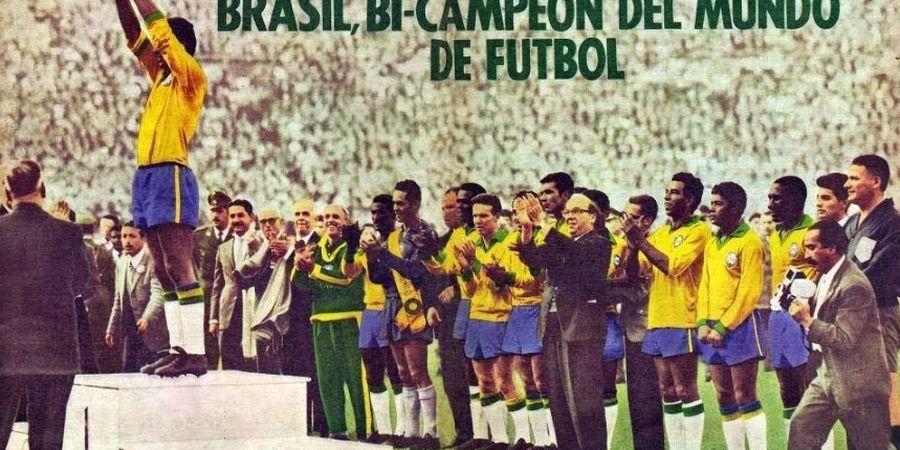 ON THIS DAY - Tanpa Pele, Brasil Sukses Rebut Gelar Piala Dunia 1962