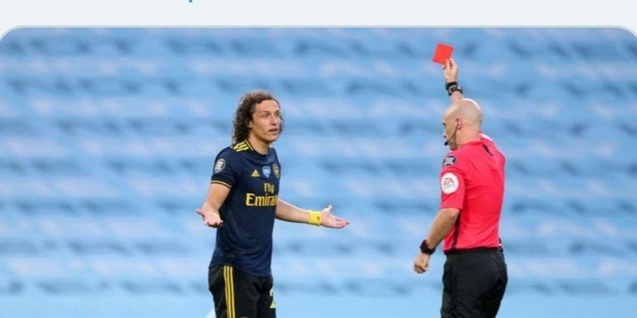 Kerap Melakukan Kesalahan, Arsenal Akan Pertahankan David Luiz dengan Kontrak Baru