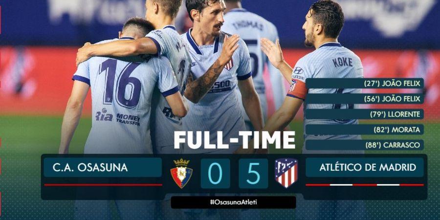 Hasil Liga Spanyol - Titisan Cristiano Ronaldo dan Pembunuh Liverpool Meledak, Atletico Pesta Gol